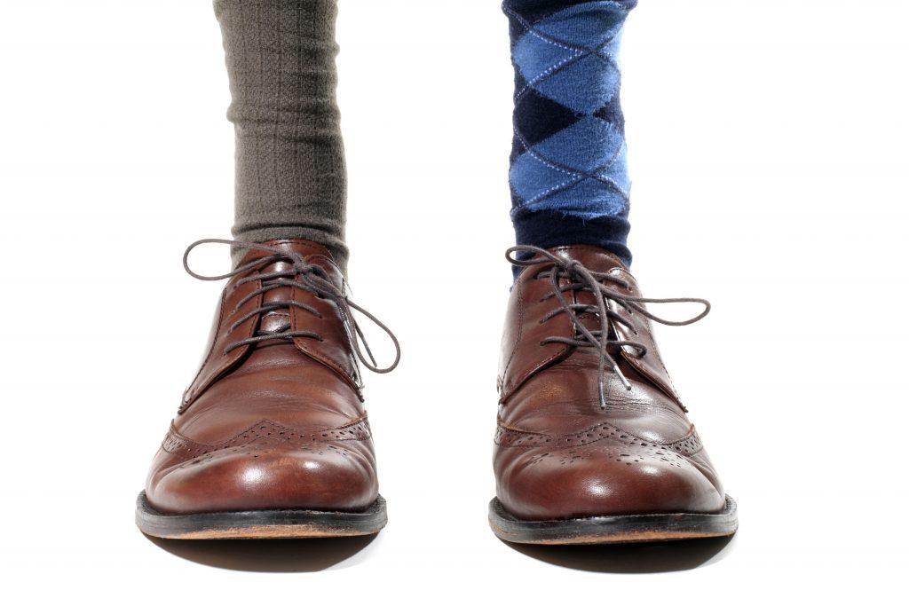 schoenen met sokken shutterstock_375886450